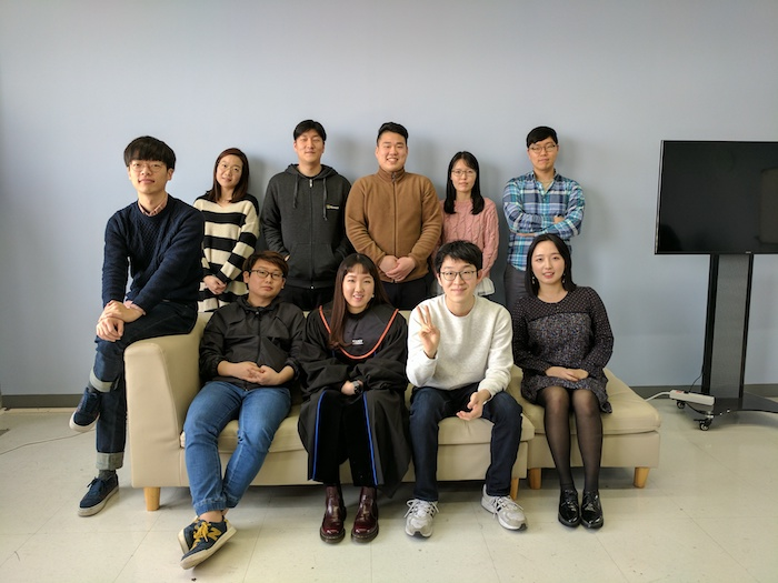 Picture of KIXLAB group, December 2016